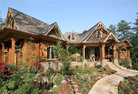 Mountain Craftsman House Plans by Award Winning Mountain Craftsman Plan 15617ge