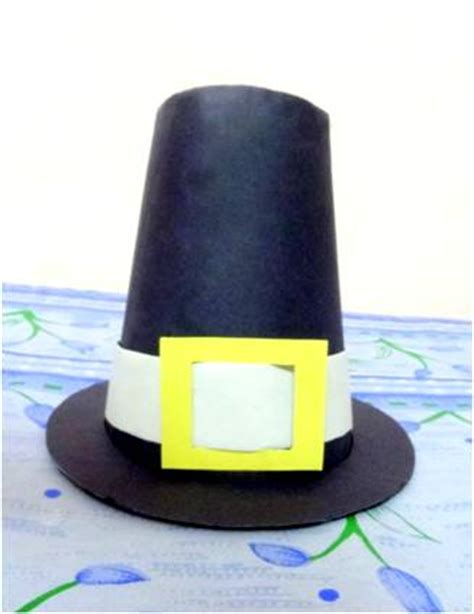 Origami Pilgrim Hat - preschool crafts for best 15 thanksgiving crafts