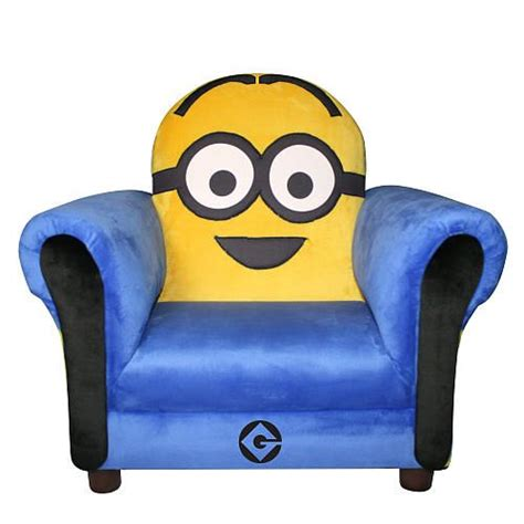 Minion Furniture by Despicable Me Minion Icon Chair Room Ideas