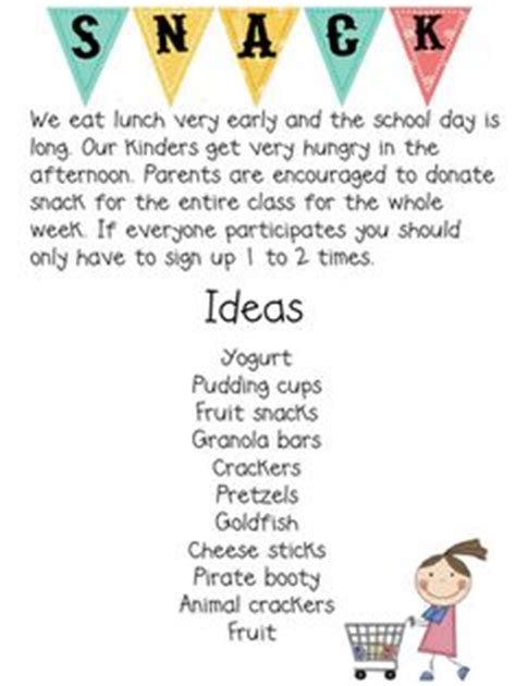 Parent Letter Requesting Snacks 1000 Images About Parent Info On Parent Letters Remind 101 And Parents