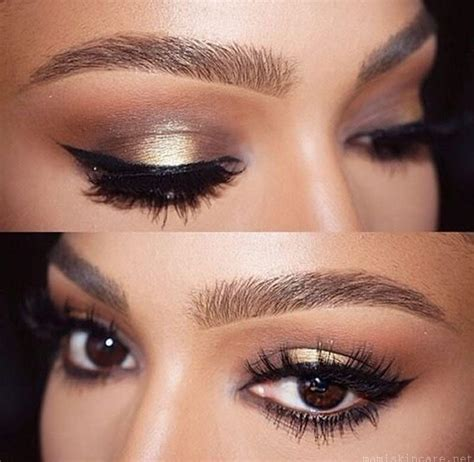 Eyeshadow For Skin simple makeup with prom makeup ideas for brown with