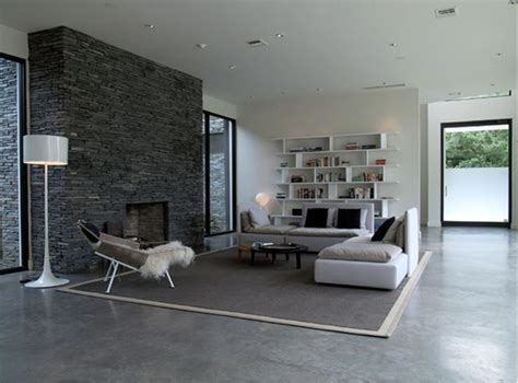 Concrete Floor Living Room by Living Room Flooring Useful Solutions And Superb Design