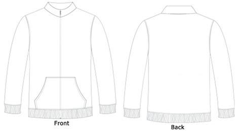 coat template jacket template