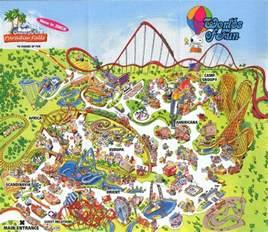 Map Of Worlds Of Fun by 17 Best Images About Worlds Of Fun On Pinterest The End