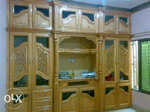 Home Decor Design Pk hand carved wooden wall unit unique design almari for