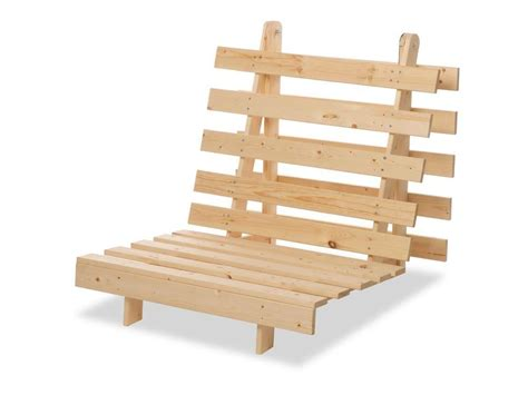 Wooden Futon Frame Plans by Metro Pine Wooden Folding Guest Futon Frame