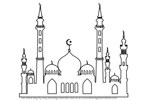 Mosque Drawing by Islam Drawings Related Keywords Suggestions Islam Drawings Keywords