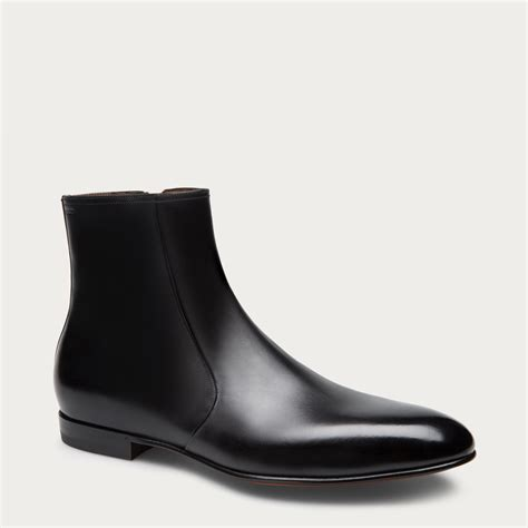 Boots Bally Made In Switzerland lyst bally gauss s leather zip boot in black in
