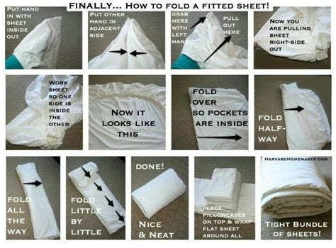 folding a fitted sheet good to know pinterest
