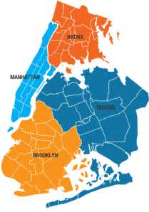 Map Of New York City Boroughs by From The Grasshopper This Morning Upon Awakening The 5