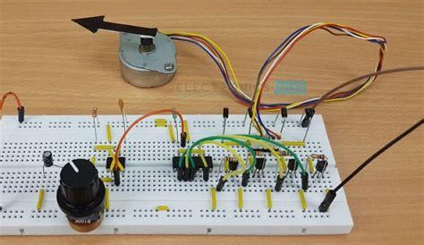 stepper motor controller circuit stepper motor driver circuit