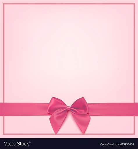 Greeting Card Template For Standard Printers by Blank Pink Greeting Card Template Royalty Free Vector Image