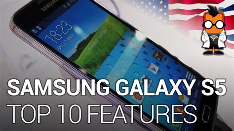 galaxy s5 best features samsung galaxy s5 top 10 features eng