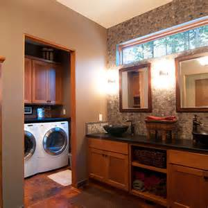 Laundry Room In Bathroom Ideas by Walk In Closet Design Ideas Bathroom Laundry Room Combo