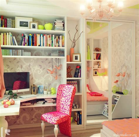 desks for teenage girls bedrooms kids bedroom with captivating white wardrobe featured