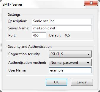 windows live mail imap settings sonicwiki thunderbird 17 0 imap sonicwiki