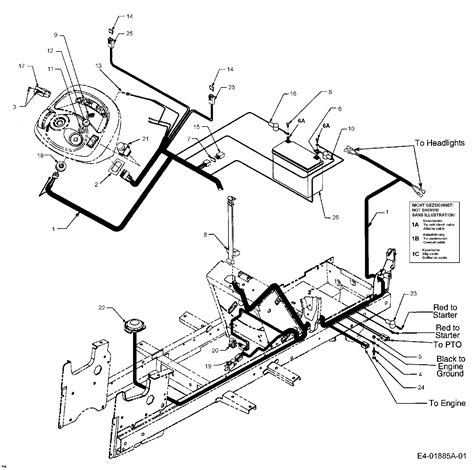 cub cadet lt1024 wiring diagram wiring diagram