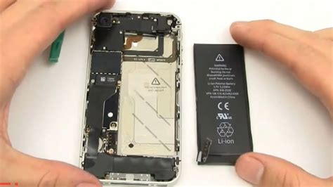how to iphone 4 verizon battery replacement