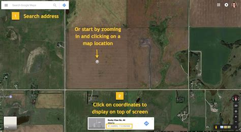 Search Address By Longitude And Latitude Find Latitude And Longitude Coordinates Trimble Ag