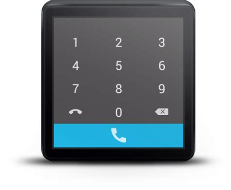 samsung dialer apk mini dialer for android wear