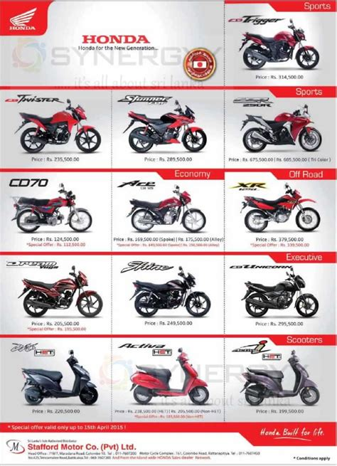 Hero Honda Price List In Nepal 2015   Autos Post
