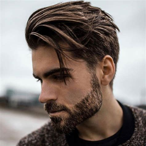 how to sweep hair back mens medium length hairstyles for men 2018 men s haircuts