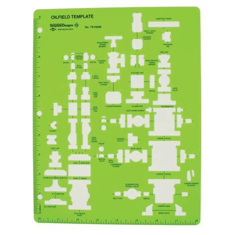 alvin oil field template td10269
