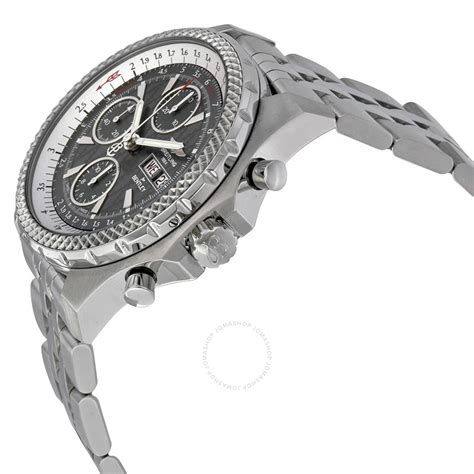 grey bentley breitling bentley gt racing grey dial chronograph men s