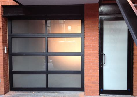 Commercial Glass Garage Door Aluminum Glass Garage Doors Are A Modern Trend