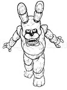 Dragoart fnaf colouring pages page 2