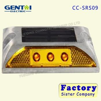 factory wholesale traffic safety ip68 flashing solar cat