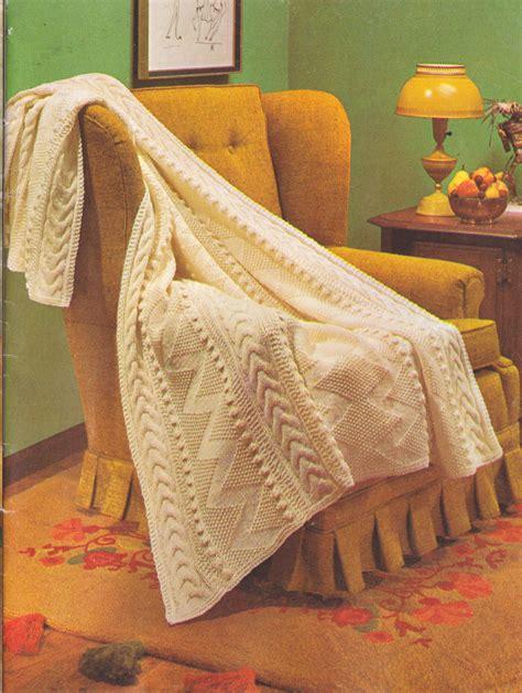 knitting pattern downloads 301 pdf vintage aran afghan knitting pattern fisherman s