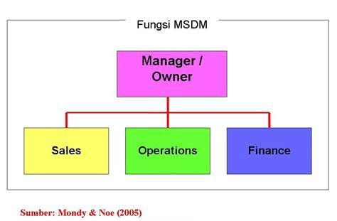 Organisasi Dan Msdm msdm struktur fungsi fungsi msdm