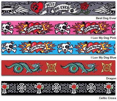 dog collar tattoo designs yellow design cool tattoos collars leads leashes