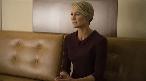 Robin Wright House Of Cards by House Of Cards The Reporter