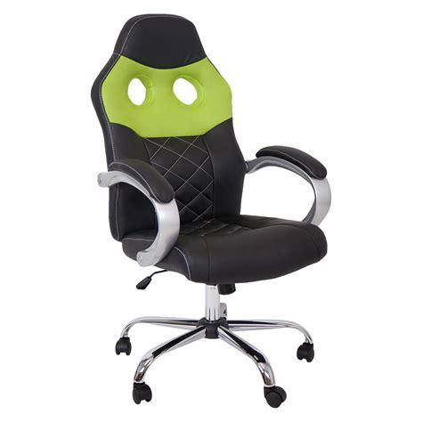 Car Computer Chair by Silverstone Sport Racing Car Office Chair Faux Leather