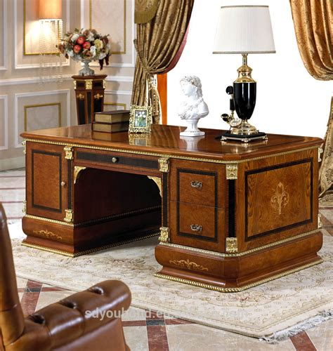 Classic Office Desks 0038 European Dignity Classic Executive Desk Design Executive Wooden Office Desk Buy Classic