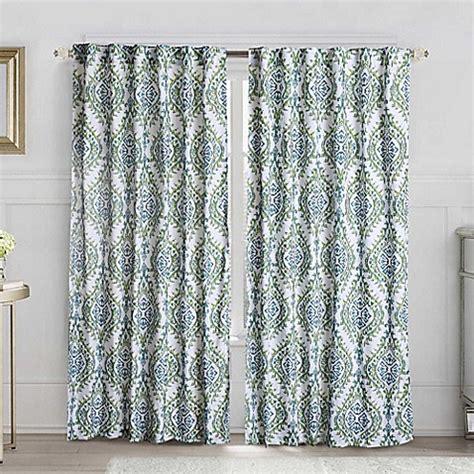 london curtains vcny london back tab window curtain panel bed bath beyond