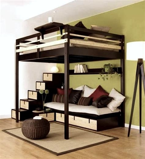 teenage beds teen room bed on stilts kidspace interiors
