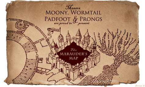marauder s map brush set by hasuhime on deviantart
