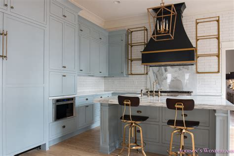 Glass Kitchen Cabinet Pulls by Our Vintage Modern Kitchen Reveal Addison S Wonderland