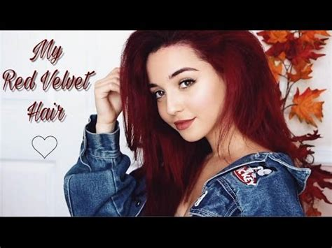 bright red hair tutorial how to dye your hair bright red doovi