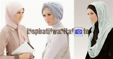 Turban Ibu Dan Anak by Gaya Jilbab Turban Untuk Muslimah Yang Mempunyai Pipi