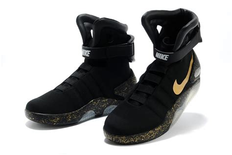 black and gold nike mag shoes from back to the future ii