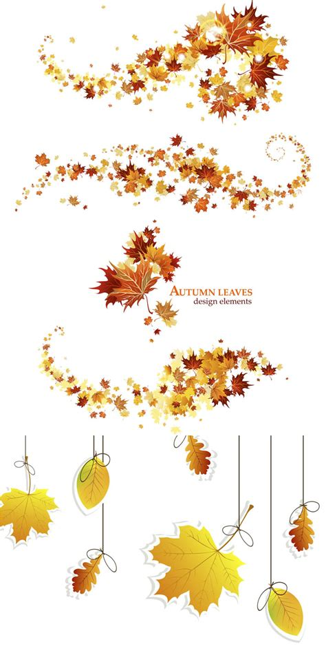 fall leaves garland printable fall garland clipart clipart suggest