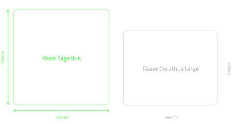 Average Mat Size by Razer Rz02 01830200 R3m1 Gigantus Elite Soft Gaming Mouse