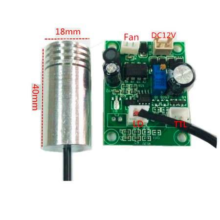 laser diode module aliexpress aliexpress buy 80mw 450nm blue laser diode module with power driver dc12v 18x40mm from
