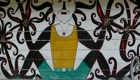 tato lambang dayak visiting kutai informasi pariwisata kabupaten kutai