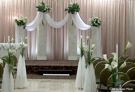 Columns For Decorations by Rent Wedding Ceremony Decor From In The Mood Decor In
