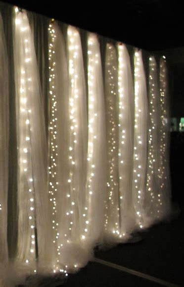 wedding backdrop using pvc pipe tree arch with sheer set the mood sheer curtains hung